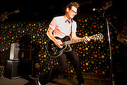 John Evans at Dan Electro's Guitar Bar in Houston, Texas. Shot for Ibanez Artcore Guitar catalog.