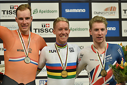 02-03-2018 BAANWIELRENNEN: UCI WK BAANWIELRENNEN: APELDOORN<br />