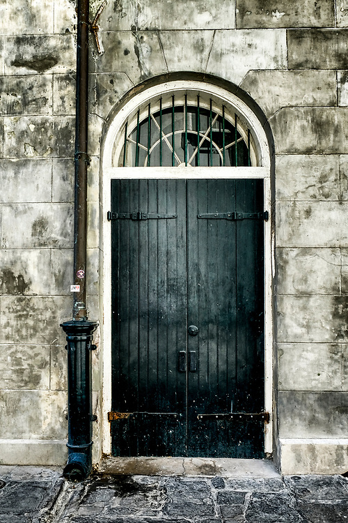 One of the many beautiful and ornate doors in The French Quarter.