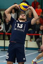 20181124 NED: Volleyball Top League ZVH - VCV: Zevenhuizen<br />Mika Prins (13) of CAS CRM ZVH<br />©2018-FotoHoogendoorn.nl / Pim Waslander