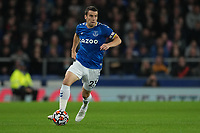 Football - 2021 / 2021 Premier League - Everton vs Burnley - Goodison Park - Monday 13th September 2021<br /> <br /> <br /> Everton's Seamus Coleman in action during todays match  <br /> <br /> <br /> <br /> Credit COLORSPORT/Terry Donnelly