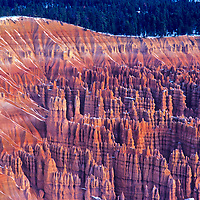 """The sun rises over """"The Silent City"""" at Bryce Canyon National Park, Utah."""