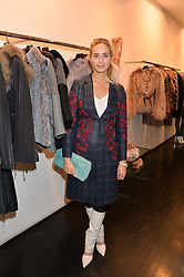 PRINCESS ELISABETH THURN & TAXIS at a preview of the Hockley Autumn -Winter 2013/2014 Collection at Hockley, 20 Conduit Street, London on 26th November 2013.
