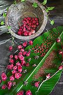 Rosella Kampuchea Ingredients display