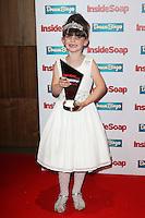 Amelia Flanagan, Inside Soap Awards 2015, DSTRKT, London UK, 05 October 2015, Photo by Richard Goldschmidt