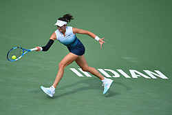 March 10, 2019 - Indian Wells, USA - Garbine Muguruza (Credit Image: © Panoramic via ZUMA Press)