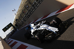 November 23, 2018 - Abu Dhabi, United Arab Emirates - Motorsports: FIA Formula One World Championship 2018, Grand Prix of Abu Dhabi, World Championship;2018;Grand Prix;Abu Dhabi, #18 Lance Stroll ( CAN, Williams Martini Racing) (Credit Image: © Hoch Zwei via ZUMA Wire)