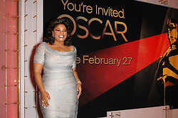 Mo'Nique during the nominations announcement for the 83rd Academy Awards, held at the Academy of Motion Picture Arts and Sciences, on January 25, 2011, in Beverly Hills, California.