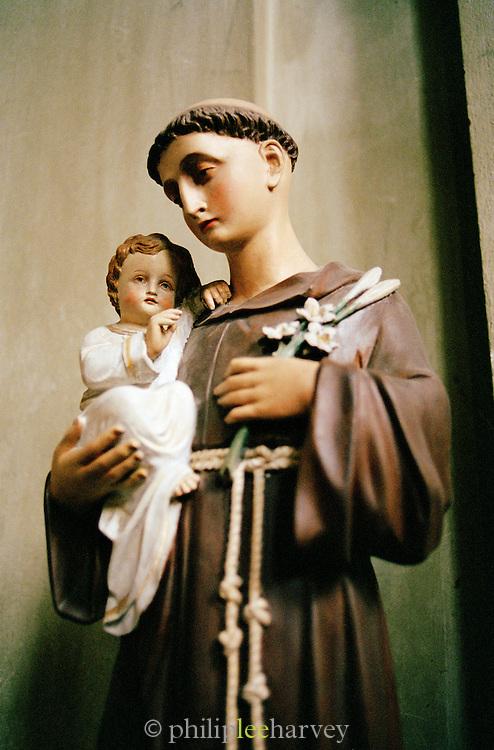 Catholic statue, Prague, Czech Republic