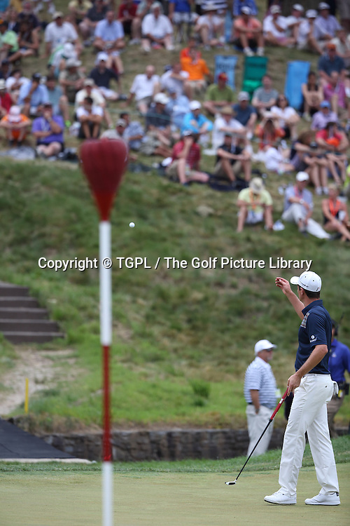 Justin ROSE (ENG)during fourth round  US Open Championship 2013,Merion,East Course,Ardmore,PA,USA.
