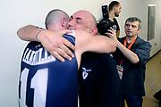 DESCRIZIONE : Forli DNB Final Four 2014-15 Gecom Mens Sana 1871 Eternedile Bologna<br /> GIOCATORE : Matteo Boniciolli Andrea Iannilli<br /> CATEGORIA : esultanza postgame<br /> SQUADRA : Eternedile Bologna<br /> EVENTO : Campionato Serie B 2014-15<br /> GARA : Gecom Mens Sana 1871 Eternedile Bologna<br /> DATA : 13/06/2015<br /> SPORT : Pallacanestro <br /> AUTORE : Agenzia Ciamillo-Castoria/M.Marchi<br /> Galleria : Serie B 2014-2015 <br /> Fotonotizia : Forli DNB Final Four 2014-15 Gecom Mens Sana 1871 Eternedile Bologna