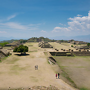 Ruins of Monte Alban archeological site
