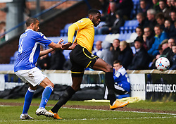Bristol Rovers' Nathan Blissett in action - Photo mandatory by-line: Neil Brookman/JMP - Mobile: 07966 386802 - 28/03/2015 - SPORT - Football - Macclesfield - Moss Rose - Macclesfield Town v Bristol Rovers - Vanarama Football Conference