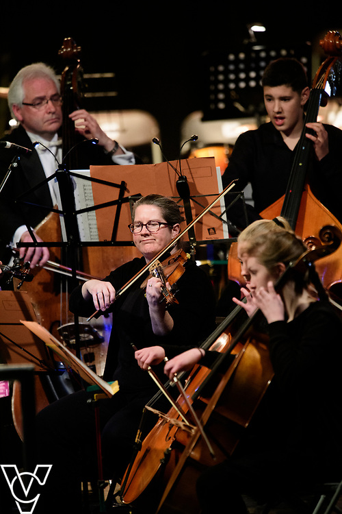 Lincolnshire Youth String Chamber Orchestra.<br /> <br /> Lincolnshire Music Service's County Groups showcase concert, held at the Engine Shed, Lincoln.<br /> <br /> Picture: Chris Vaughan Photography for Lincolnshire Music Service<br /> Date: April 13, 2019