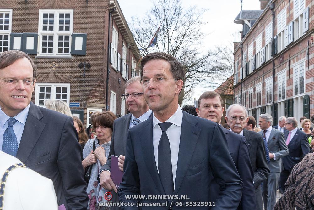 NLD/Naarden/20180330 - Matthaus Passion in de grote kerk van Naarden 2018, Mark Rutte