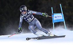 27.01.2018, Lenzerheide, SUI, FIS Weltcup Ski Alpin, Lenzerheide, Riesenslalom, Damen, im Bild Marie Massios (FRA) // Marie Massios of France in action during the ladie's Giant Slalom of FIS ski alpine world cup in Lenzerheide, Austria on 2018/01/27. EXPA Pictures © 2018, PhotoCredit: EXPA/ Sammy Minkoff<br /> <br /> *****ATTENTION - OUT of GER*****