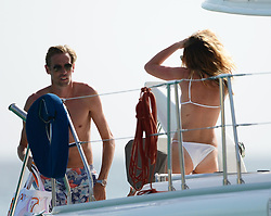 EXCLUSIVE: Peter Crouch and wife Abby Clancy pictured on romantic holiday in Barbados. 13 Jun 2018 Pictured: Peter Crouch and wife Abby Clancy. Photo credit: Shanice King/246paps / MEGA TheMegaAgency.com +1 888 505 6342