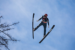 Constantin Schmid (GER) during the 1st round of the Ski Flying Hill Individual Competition at Day 2 of FIS Ski Jumping World Cup Final 2019, on March 22, 2019 in Planica, Slovenia. Photo Peter Podobnik / Sportida