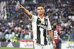 September 26, 2018 - Turin, Piedmont, Italy - Cristiano Ronaldo (Juventus FC) during the Serie A football match between Juventus FC and Bologna FC at Allianz Stadium on September 26, 2018 in Turin, Italy. .Juventus won 2-0 over Bologna. (Credit Image: © Massimiliano Ferraro/NurPhoto/ZUMA Press)