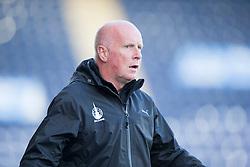 Falkirk's manager Peter Houston.<br /> Falkirk 1v 1 Dumbarton, Scottish Championship game played 20/9/2014 at The Falkirk Stadium .