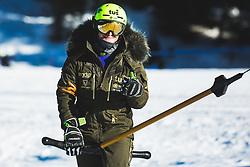 Tim Mastnak (SLO) during parallel giant slalom FIS Snowboard Alpine world championships 2021 on 1st of March 2021 on Rogla, Slovenia, Slovenia. Photo by Grega Valancic / Sportida