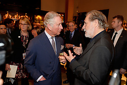15.03.2016, Zagreb, CRO, der Britische Kronprinz Charles und seine Frau Camilla besuchen Kroatien, im Bild His Royal Highness the Prince of Wales attended the celebration of the 70th anniversary of the British Council in Croatia at the Museum of Arts and Crafts. Rade Serbedzija. EXPA Pictures © 2016, PhotoCredit: EXPA/ Pixsell/ Goran Mehkek/Cropix/POOL<br /> <br /> *****ATTENTION - for AUT, SLO, SUI, SWE, ITA, FRA only*****
