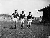 1959 - Scottish League team practice at Dalymount Park