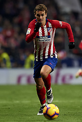 November 24, 2018 - Madrid, Madrid, Spain - Antoine Griezmann of Atletico Madrid during the week 13 of La Liga match between Atletico Madrid and FC Barcelona at Wanda Metropolitano Stadium in Valencia, Spain on November 24, 2018. (Credit Image: © Jose Breton/NurPhoto via ZUMA Press)