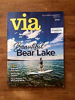 Summer 2016 cover of Via Magazine.