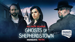 September 1, 2017 - Nick Groff, Elizabeth Saint, Bill Hartley..'Ghosts Of Shepherdstown' (Season 2) TV Series - 2017 (Credit Image: © Pictures/Entertainment Pictures via ZUMA Press)
