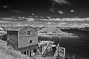FIshing village on the Atlantic Ocean, Blue Rocks, Nova Scotia, Canada