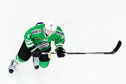 Mark Cepon of Olimpija during ice hockey match between HDD Olimpija Ljubljana and Dornbirner EC in Erstebank league season 2016/17, on October 24, 2016 in Hala Tivoli, Ljubljana, Slovenia. Photo by Morgan Kristan / Sportida