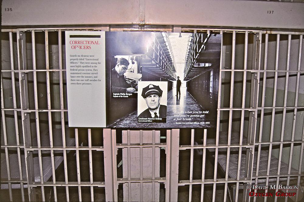 Signage in Alcatraz Museum