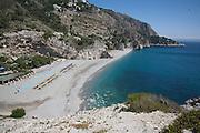 El Carligto, Andalucia, Spain Cantarrijan Beach in Andalucia, Spain