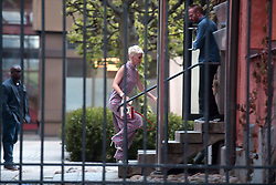 """June 1, 2017 - Stockholm, Sweden - EXCLUSIVE ***..Katy Perry pays a visit to the Universal Music in Stockholm, Sweden 2017-06-01..(c) SÃ""""NNÃ…S PER-OLOF  / Aftonbladet / IBL BildbyrÃ¥....* * * EXPRESSEN OUT * * *....AFTONBLADET / 7240 (Credit Image: © Aftonbladet/IBL via ZUMA Wire)"""