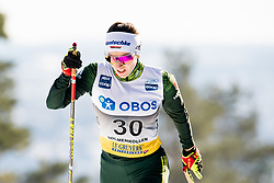 March 10, 2019 - Oslo, NORWAY - 190310 Julia Belger of Germany competes in the women's 30 km classic technique mass start during the FIS World Cup on March 10, 2019 in Oslo..Photo: Jon Olav Nesvold / BILDBYRÃ…N / kod JE / 160424 (Credit Image: © Jon Olav Nesvold/Bildbyran via ZUMA Press)