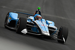May 19, 2019 - Indianapolis, IN, U.S. - INDIANAPOLIS, IN - MAY 19: IndyCar driver Patricio O'Ward (31) of the Carlin Chevrolet drives into turn one during the practice session for the IndyCar Series 103rd Indianapolis 500 on May 19, 2019, at the Indianapolis Motor speedway in Indianapolis, Indiana. (Photo by Michael Allio/Icon Sportswire) (Credit Image: © Michael Allio/Icon SMI via ZUMA Press)