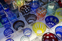 Kappabashi Glassware Store; - Kappabashi is almost entirely made up of stores that supply restaurants. The shops sell everything from restaurant decorations, knives, cutlery and famously plastic display food samples that are to be found at restaurants in Japan - to display menus.