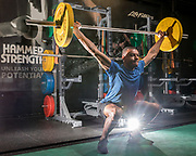 Rodet Yila at Sports Science High Performance Centre. Image by Greg Beadle