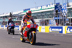 October 28, 2018 - Melbourne, Victoria, AUSTRALIE - MARC MARQUEZ - SPANISH - REPSOL HONDA TEAM - HONDA (Credit Image: © Panoramic via ZUMA Press)