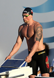 June 23, 2017 - Rome, Italy - Adam Peaty (ENG) competing in Men's 100 m Breaststroke Final A and setting the new record of the competition during the international swimming Trofeo Settecolli at Piscine del Foro Italico in Rome, Italy on June 23, 2017. (Credit Image: © Matteo Ciambelli/NurPhoto via ZUMA Press)