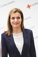 040715 Queen Letizia attends a Meeting with Spanish Red Cross