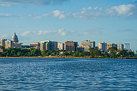 Madison Skyline & Monona Bay