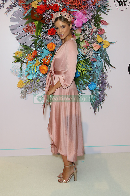 Ahead of Kennedy Oaks Day, the traditional Ladies' Day of the Melbourne Cup Carnival, the prestigious and time-honoured tradition that is the VRC Kennedy Oaks Club Lunch took place at Crown Palladium. 07 Nov 2018 Pictured: Melbourne Cup Carnival Ambassador Olivia Molly Rogers. Photo credit: Richard Milnes / MEGA TheMegaAgency.com +1 888 505 6342
