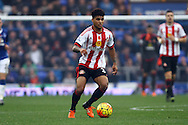 DeAndre Yedlin of Sunderland in action. Barclays Premier League match, Everton v Sunderland at Goodison Park in Liverpool on Sunday 1st November 2015.<br /> pic by Chris Stading, Andrew Orchard sports photography.