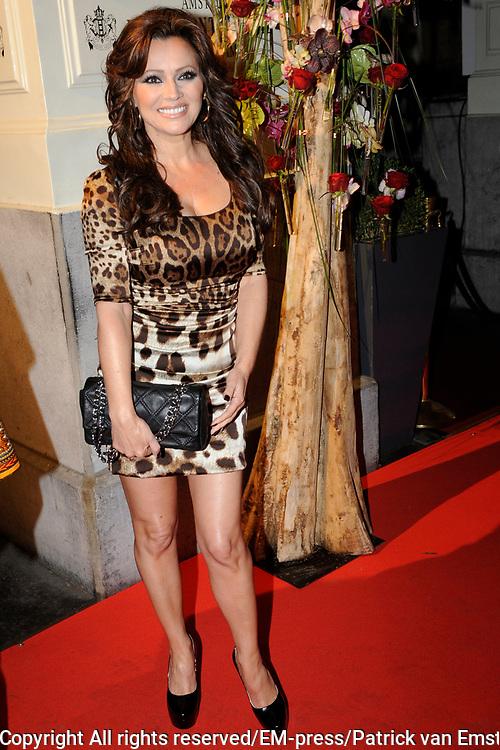 Uitreiking Beau Monde Awards in het Amstel Hotel, Amsterdam.<br /> <br /> Op de foto:  Tatjana Simic