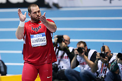 07.03.2014, Ergo Arena, Sopot, POL, IAAF, Leichtathletik Indoor WM, Sopot 2014, Tag 1, im Bild RYAN WHITING // RYAN WHITING during day one of IAAF World Indoor Championships Sopot 2014 at the Ergo Arena in Sopot, Poland on 2014/03/07. EXPA Pictures © 2014, PhotoCredit: EXPA/ Newspix/ Piotr Matusewicz<br /> <br /> *****ATTENTION - for AUT, SLO, CRO, SRB, BIH, MAZ, TUR, SUI, SWE only*****