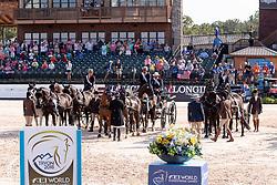 Team NED, Chardon  IJsbrand, NED, De Ronde Koos, NED, Chardon Bram, NED<br /> World Equestrian Games - Tryon 2018<br /> © Hippo Foto - Dirk Caremans<br /> 23/09/2018