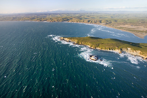 Tomales Point and Bay looking north, North Coast MLPA study site