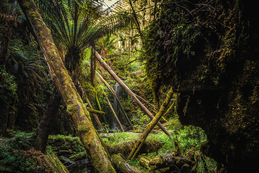 Marriners Falls at Great Otway National Park, Victoria